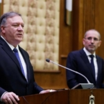 Pompeo's tour in the Middle East