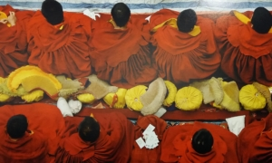 Lhasa. Tibet 2005. La festa di Saga Dawa nel tempio di Jokhang