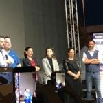 Salvini a Fiumicino per De Vecchis sindaco