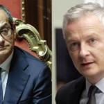 """Italia e Francia rilanciano """"web tax, unione bancaria e bilancio comune"""""""