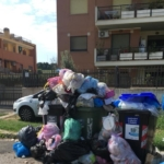 """Valle Galeria sommersa di rifiuti, Catalano (Lega), """" La raccolta dei rifiuti è un vero fallimento"""""""
