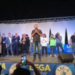 Latina, Matteo Salvini  chiude la festa Regionale della Lega