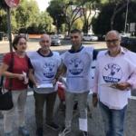 Nelle piazze per Salvini, a Roma tante adesioni
