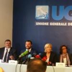 Roma, Matteo Salvini incontra Marine Le Pen in vista delle prossime Europee