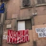 Via Giulia. Sgomberato il liceo Virgilio, occupato dagli studenti.