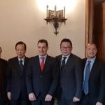 Giustizia, Morrone incontra l'ambasciatore Cinese