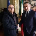Giordano (Ugl) incontra Presidente Provincia Mt Marrese