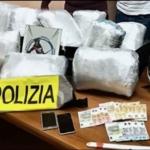 Sequestrati 20 chili di marijuana a Roma