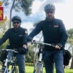 """Villa Ada. Controlli """"in bici"""" della Polizia di Stato in occasione del primo maggio"""
