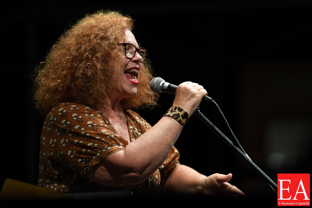 Sarah Jane Morris - Let The Music Play! - concert at the Casa del Jazz Rome Italy on July 14, 2021