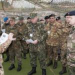 Il Multinational CIMIC Group si addestra per l'impiego in operazioni NATO