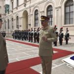 Il Presidente del comitato dei Capi di Stato Maggiore Pakistano in visita in Italia incontra il generale graziano