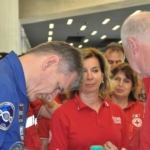 """La Croce Rossa incontra Paolo Nespoli e l'equipaggio della missione """"Vita"""""""