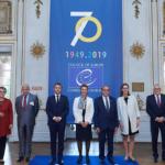 La cerimonia per i 70 anni del Consiglio d'Europa ed il discorso di Macron