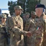 Afghanistan: Comandante COI visita il Contingente Italiano