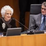 Bruxelles: la cerimonia in memoria delle vittime dell'olocausto ed il discorso di Liliana Segre