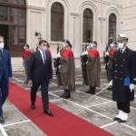 Il Ministro della Difesa Guerrini incontra il suo omologo Libico