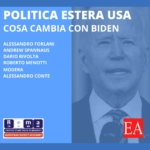 Webinar, la politica estera USA, cosa cambia con Biden