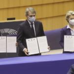 Conferenza sul futuro dell'Europa: la firma della dichiarazione comune