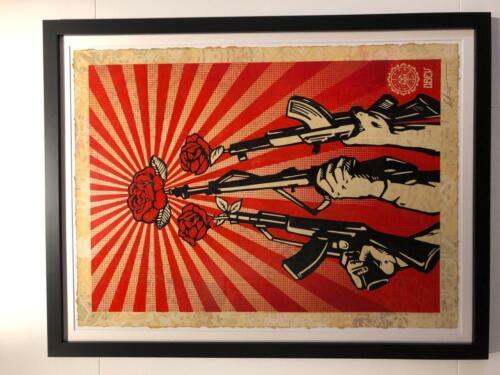 Shepard Fairey Guns and Roses