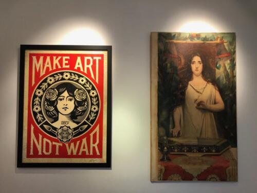 Shepard Fairey vs Santa Cecilia di Erulo Eroli